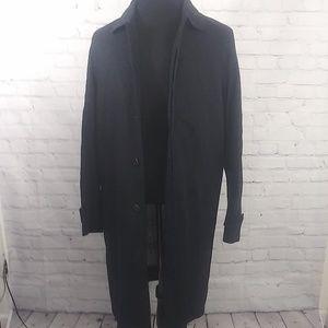 Brooks Brothers Rain Coat Sz 40L Trench Jacket